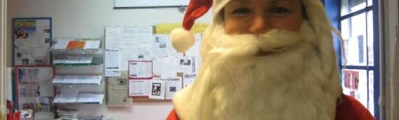 Le Père Noël Parle l'Anglais!